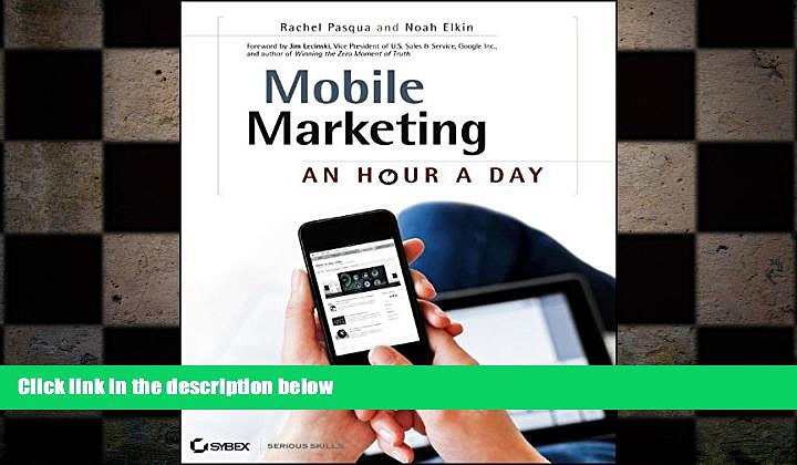 FREE DOWNLOAD  Mobile Marketing: An Hour a Day  DOWNLOAD ONLINE