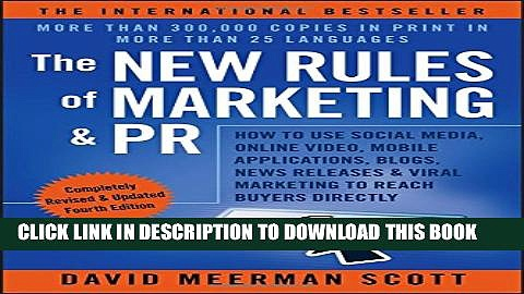 [PDF] The New Rules of Marketing   PR: How to Use Social Media, Online Video, Mobile Applications,