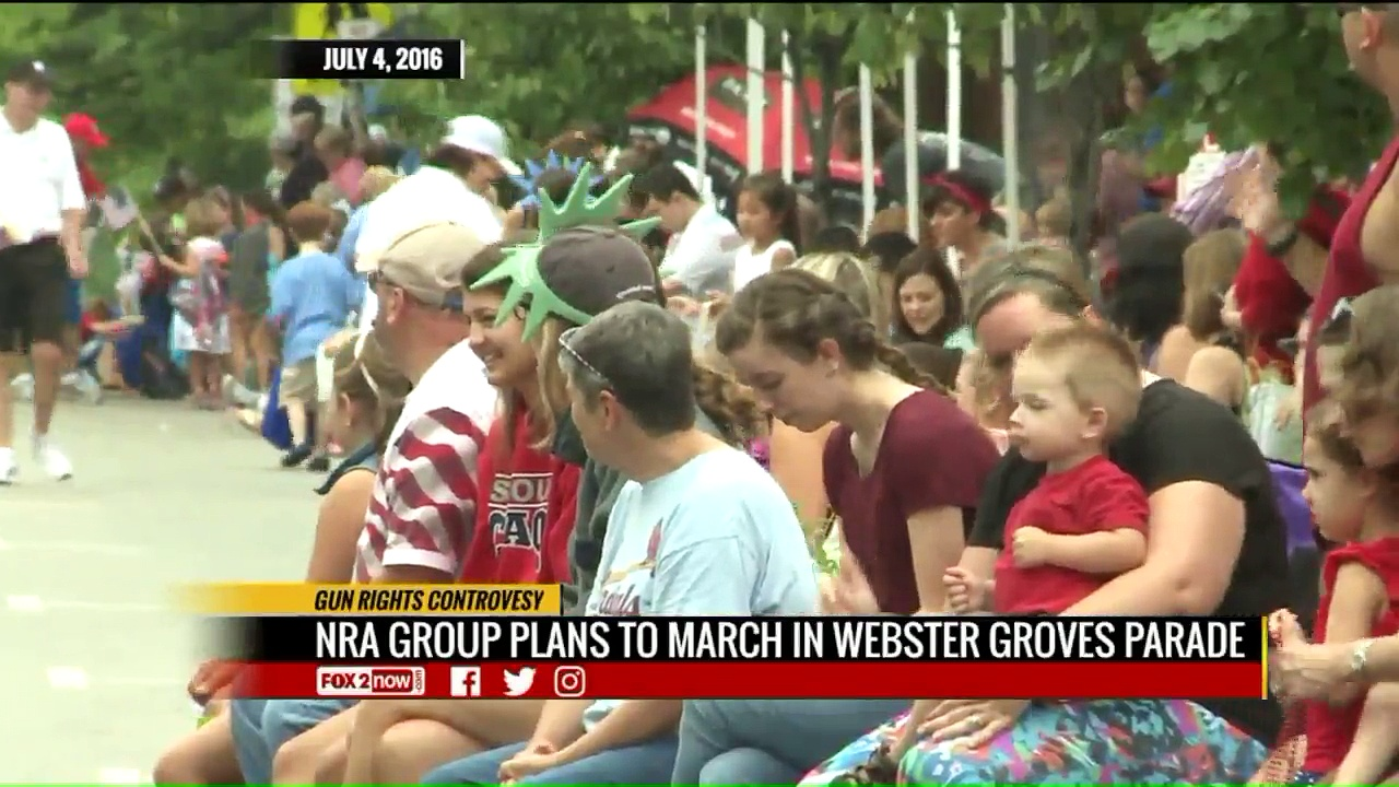 Controversy Over NRA-Affiliated Group Participating in Missouri 4th of July Parade