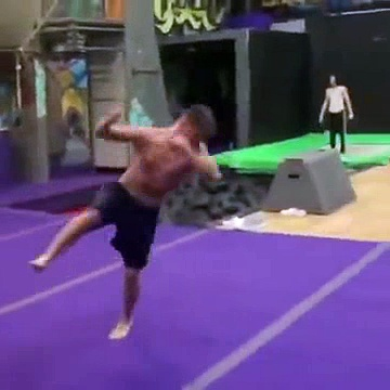 A Very Profitable Gymnastic Mishap