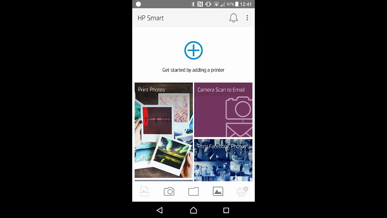 Using the HP Smart apps to connect and Setup HP Envy Photo 7855 7155 6255 Printer