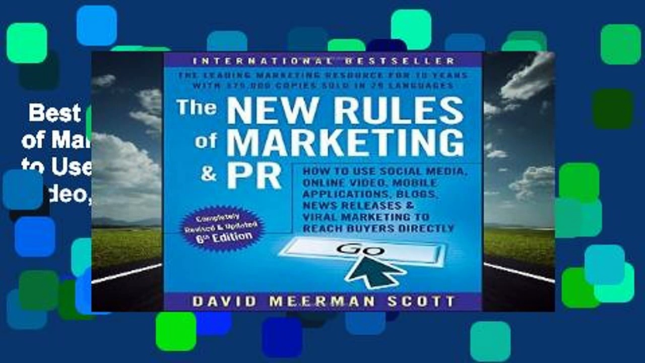 Best ebook  The New Rules of Marketing and PR: How to Use Social Media, Online Video, Mobile