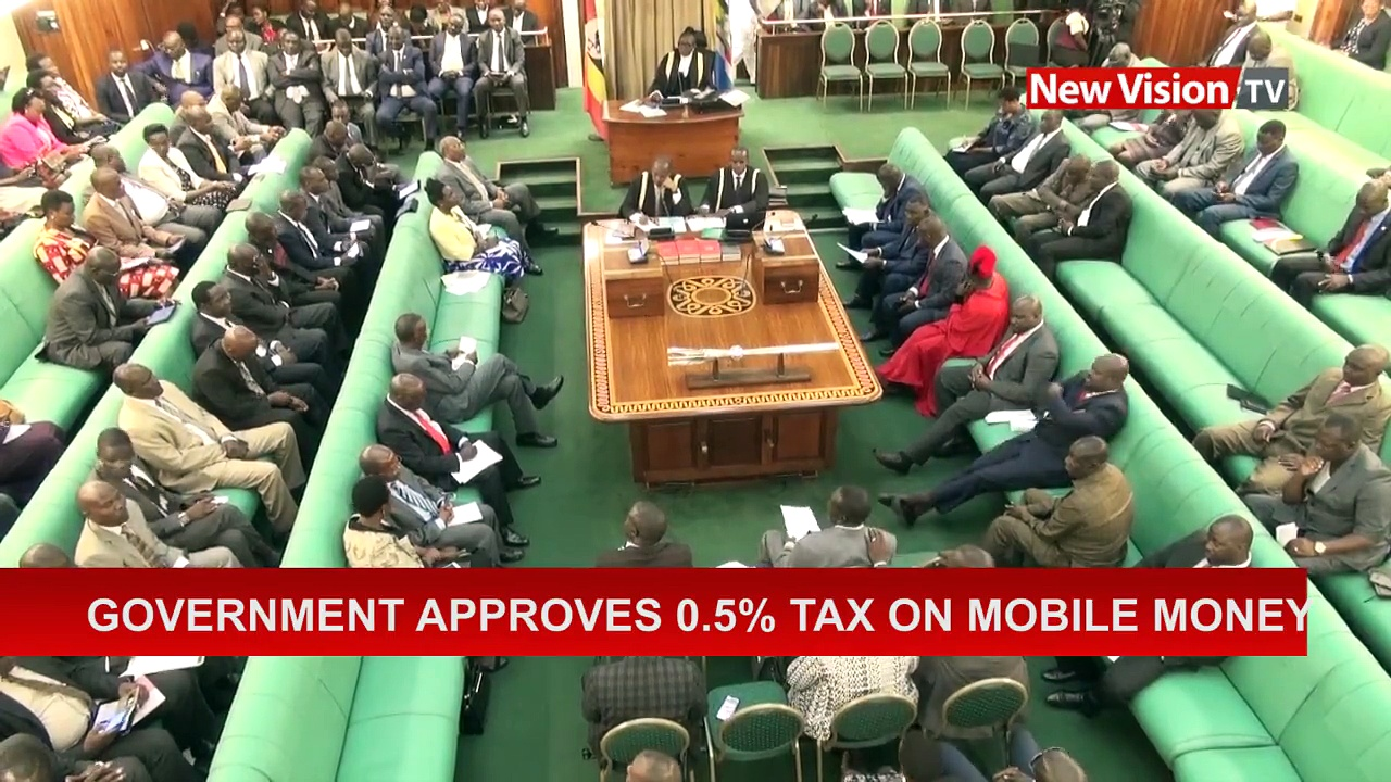 #NewVisionTVGovernment approves 0.5% tax on mobile money