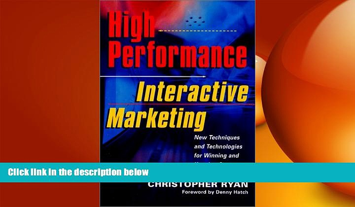 EBOOK ONLINE  High-Performance Interactive Marketing  BOOK ONLINE