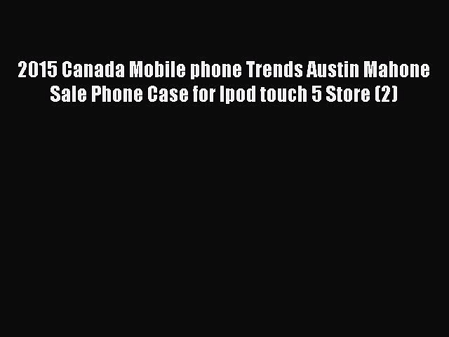 Read 2015 Canada Mobile phone Trends Asking Alexandria Band Sale Phone Case for Ipod touch