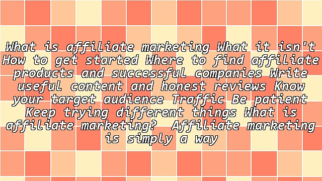 Nothing Held Back: Complete Guide to Affiliate Marketing and Targeted Traffic