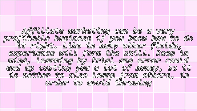 Affiliate Marketing Tips For a Successful Lucrative Business
