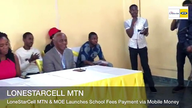 Lonestar Cell MTN & Government of Liberia through the Ministry of Education Launches School Fees Payments via Mobile Money!