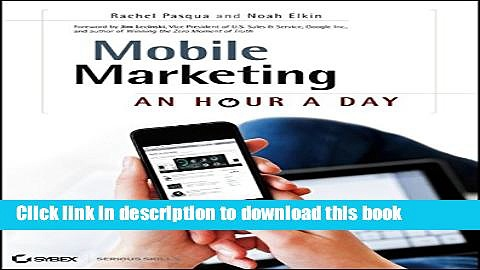 [New] EBook Mobile Marketing: An Hour a Day Free Books