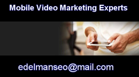 Mobile Video Marketing Consultants , Mobile Video Marketing Professional Services , Mobile Video Marketing technology to dominate mobile search results , New Mobile Video Marketing technology developed for taking control of search resu
