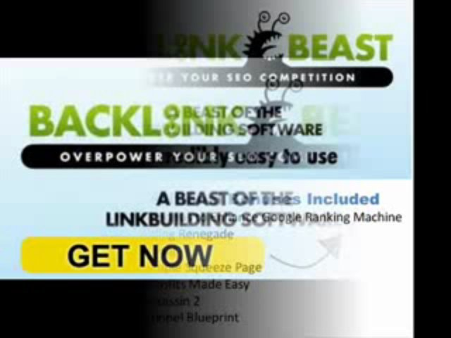 """ Backlink Beast – Best SEO Software – Recurring Commissions! (view mobile)  